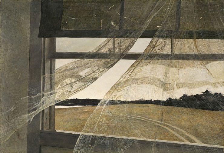 AndrewWyeth;WindfromtheSea,1947NtlGallery